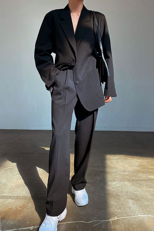 PIN TUCK SLACKS