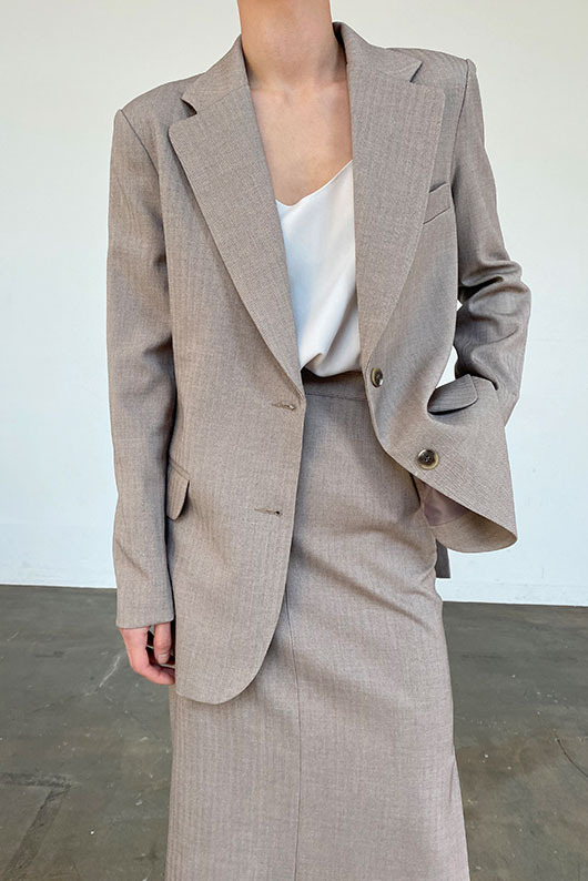 THREE PIECE JACKET